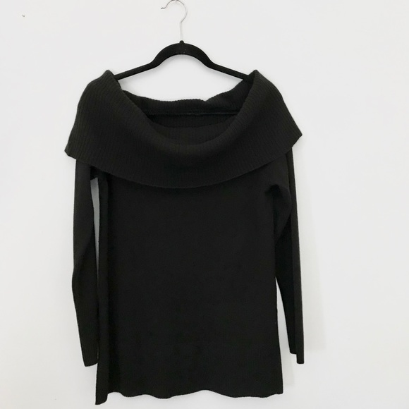 31d66dde Neiman Marcus Sweaters   Off Shoulder Cashmere Sweater   Poshmark